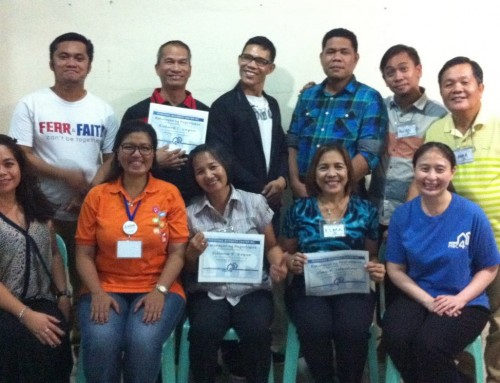 Training of Trainers II – Payatas