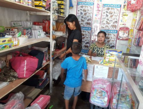 MASD School Supplies in Brgy. Sangalang